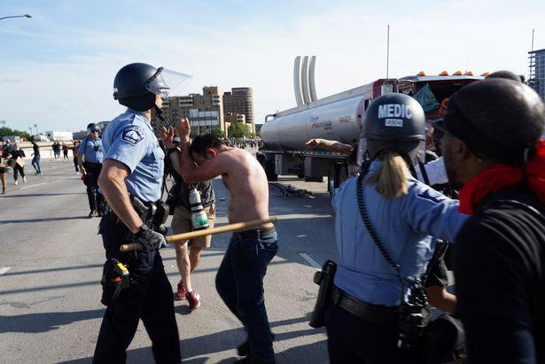 اعتراضات به کشته شدن جورج فلوید