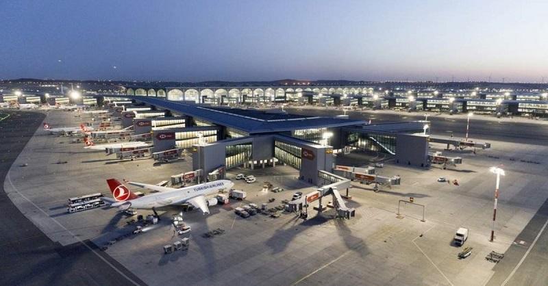 از سرگیری پروازهای بین المللی ترکیه