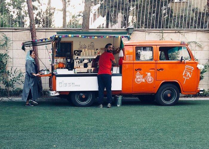 جمع آوری ون کافه ها در تهران