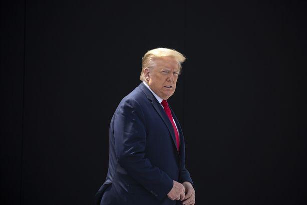انتقال دونالد ترامپ به پناهگاه زیرزمینی در جریان اعتراضات به کشته شدن جورج فلوید