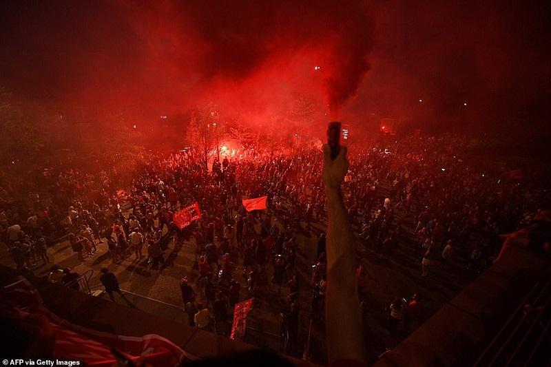 تصاویر جشن قهرمانی لیورپول