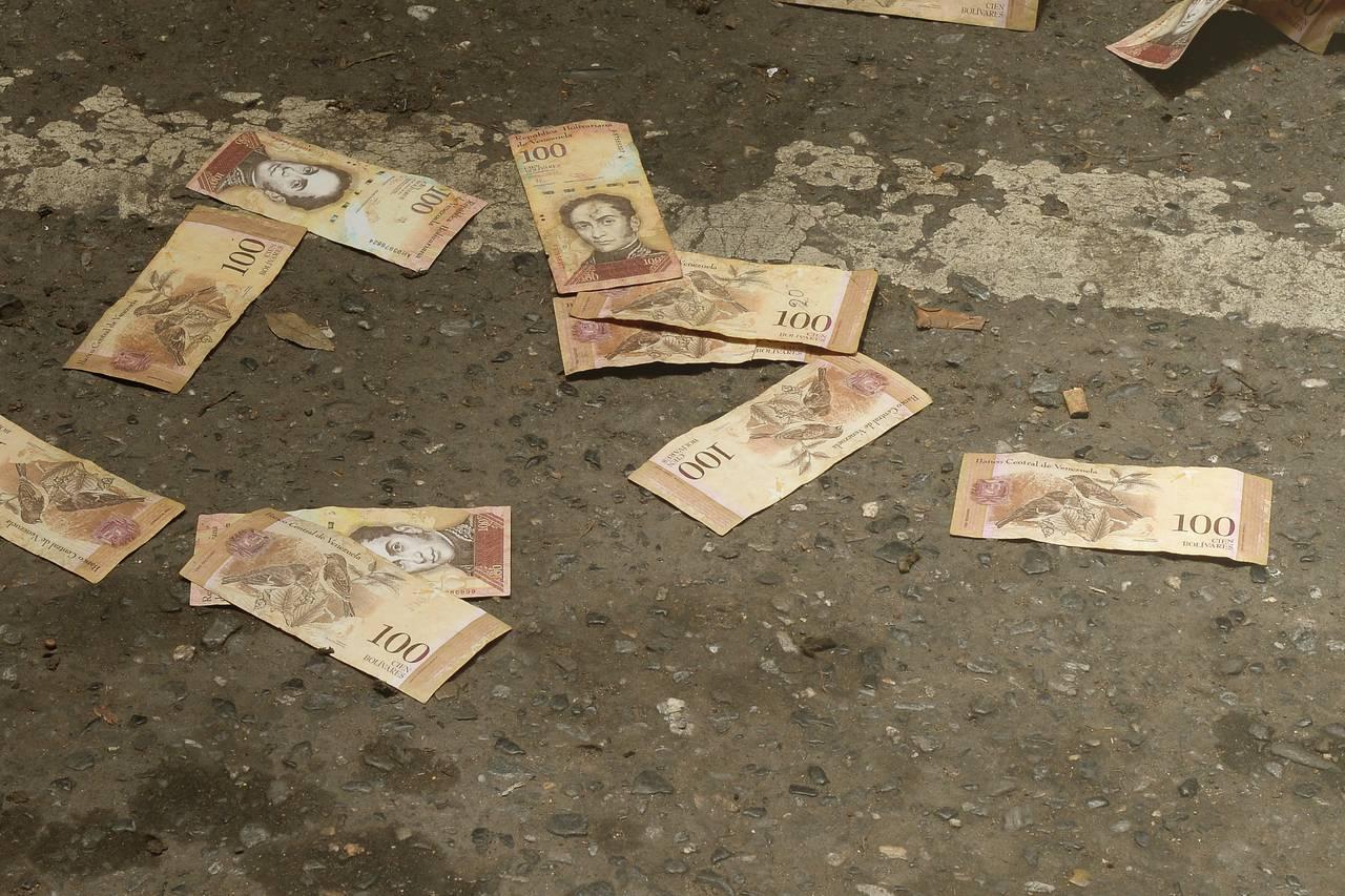 ابر تورم در ونزوئلا به روایت تصویر