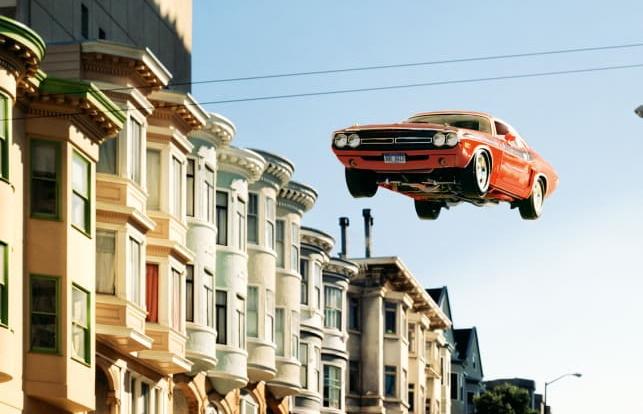 بازسازی صحنههای تعقیب و گریز خودرویی سینمای دهه ۶۰ و ۷۰ توسط یک عکاس