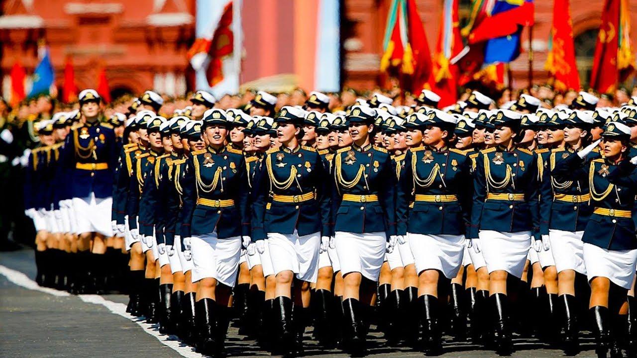 رژه ارتش روسیه به مناسبت ۷۵امین سال شکست آلمان نازی با وجود بحران کرونا