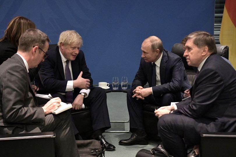 نفوذ روسیه در بریتانیا