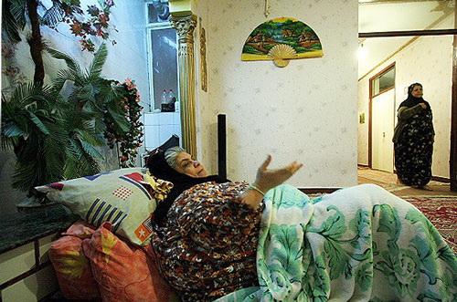 درگذشت چاق ترین زن ایران و دردسرهای عجیب دفن او