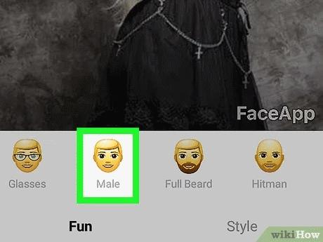 تغییر جنسیت با اپلیکیشن faceapp