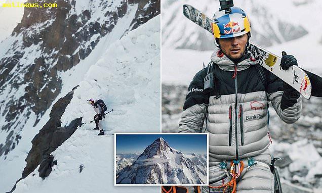 عملیات غیرممکن در K2؛ اسکی در مرگبارترین و خطرناکترین کوهستان جهان + ویدیو
