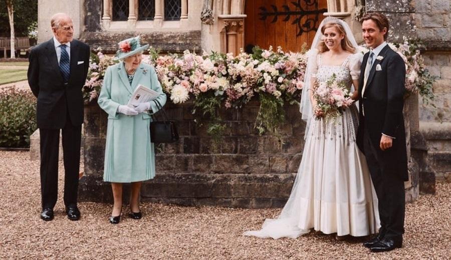 تصاویر مراسم عروسی پرنسس بئاتریس نوه ملکه انگلیس