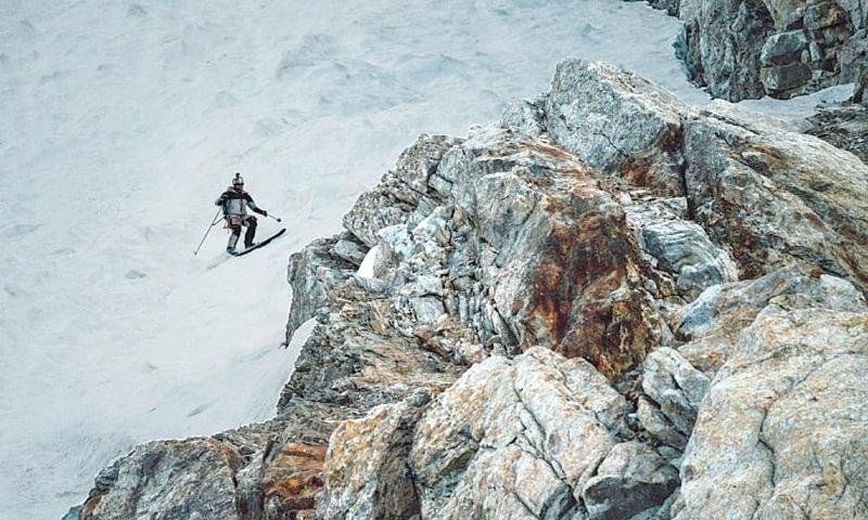 اسکی کردن در قله K2 پاکستان
