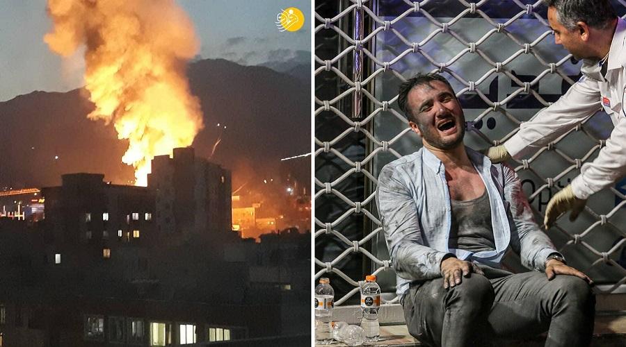 جزئیات انفجار و آتش سوزی کلینیک سینا اطهر تهران + ویدئو