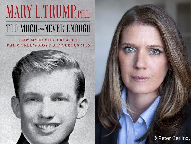 ماری ترامپ، برادرزاده دونالد ترامپ ، در کتاب تازه خود که بخش هایی از آن دیروز، سه شنبه، منتشر شد ادعاهایی جالب و جدید در مورد خانواده ترامپ دارد.