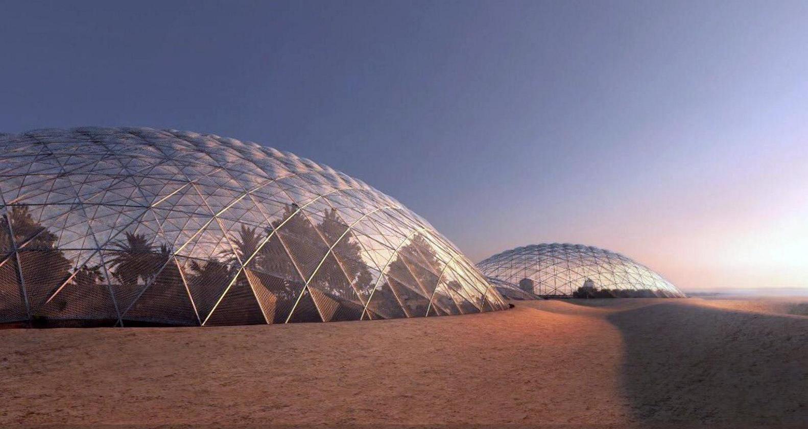 شهر مریخی دبی