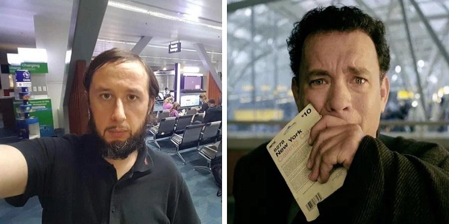۱۰۰ روز زندگی در فرودگاه؛ گردشگری که به سرنوشت تام هنکس در فیلم «ترمینال» دچار شده