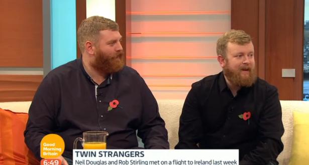 Neil Thomas Douglas and Rob Stirling 1 روزیاتو: ملاقات تصادفی و عجیب دو همزاد در خطوط هوایی رایان ایر اخبار IT