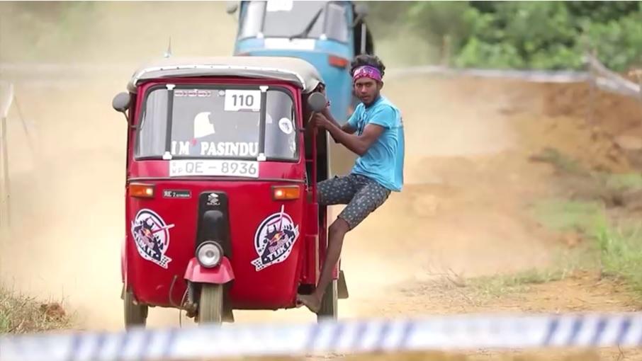 مسابقات سه چرخه سواری در سریلانکا