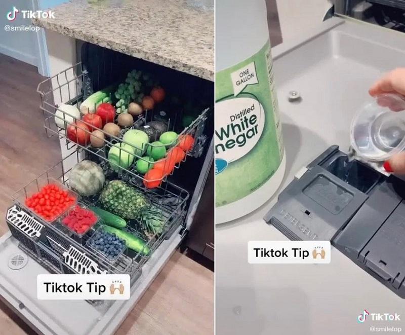 ترفند شستن میوه ها و سبزیجات