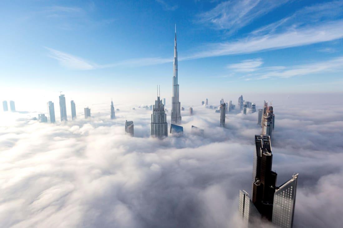 عکس های هوایی از دبی