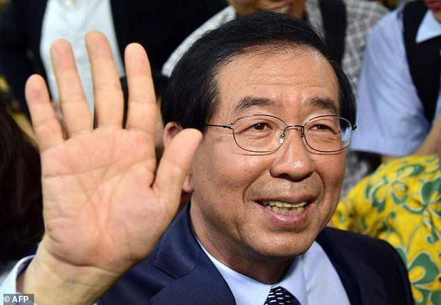 خودکشی شهردار سئول