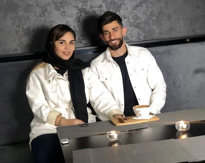 اولین زوج ایرانی فوتبال اروپا