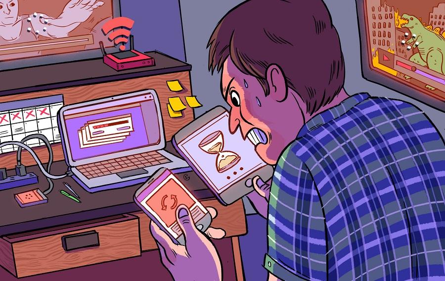 آیا اینترنت وای فای شما کند است؟ با روش های افزایش سرعت اینترنت مودم آشنا شوید