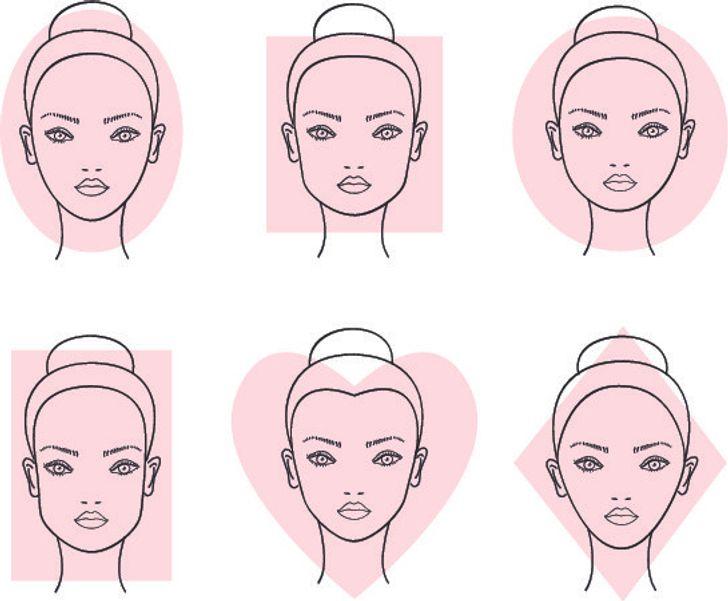 انتخاب مدل ابرو بر اساس فرم چهره
