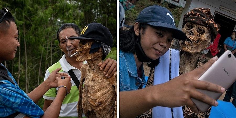 رسم عجیب اندونزیایی ها؛ تجدید دیدار سالانه و معاشرت با مردگان