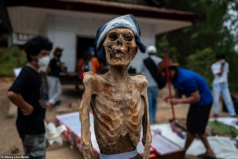 17 1598365185009 روزیاتو: رسم عجیب اندونزیایی ها؛ تجدید دیدار سالانه و معاشرت با مردگان اخبار IT