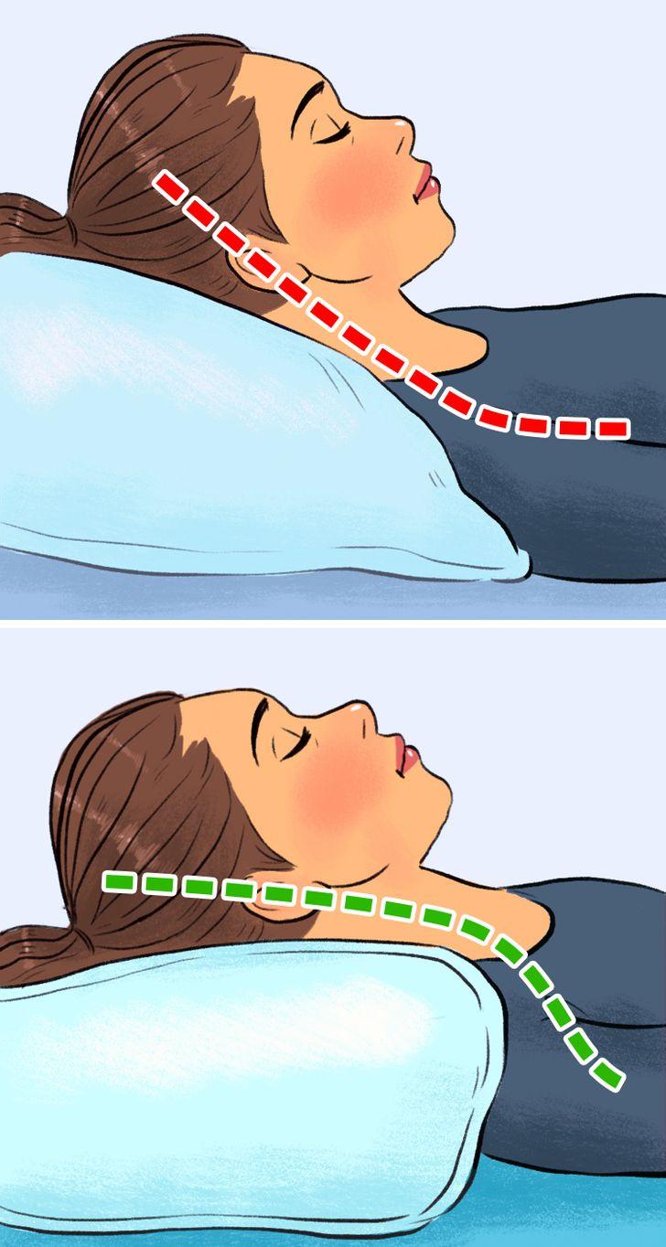 2 d0d8ce5cc5b9d27283bc9ef9a2 روزیاتو: ۷ تأثیر منفی بالش بر سلامتی ما؛ از بدخوابی تا سردرد اخبار IT
