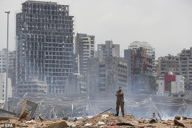 نزدیک ترین تصاویر از انفجار بندر بیروت
