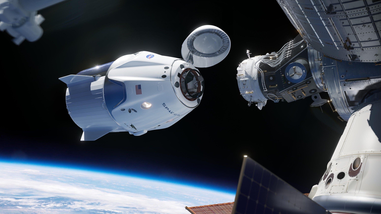 فضاپیمای Crew Dragon اسپیس ایکس