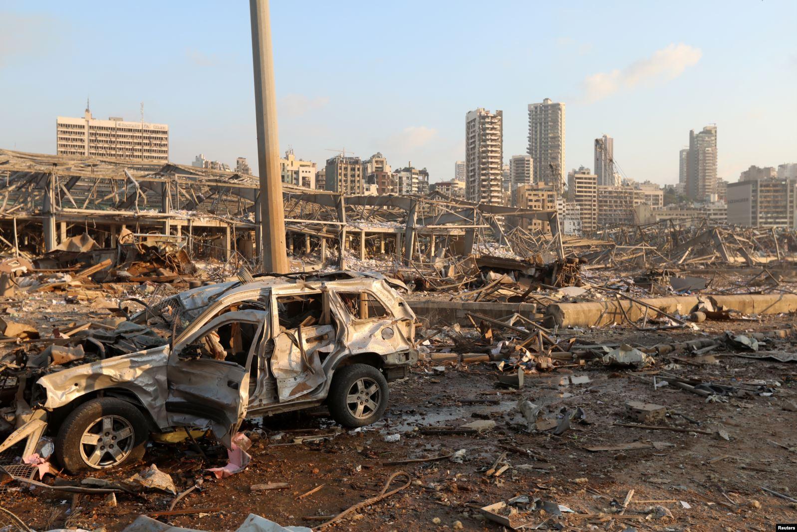 انفجار بندر بیروت