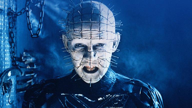 Doug Bradley as Pinhead in Hellraiser روزیاتو: ۱۰ فیلم بلاک باستر و موفق دهه ۸۰ که هالیوود در حال بازسازی آن هاست اخبار IT