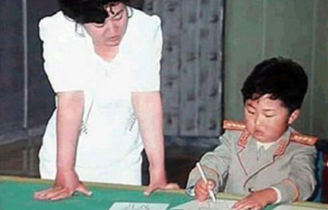 عکس های دوران کودکی رهبر کره شمالی