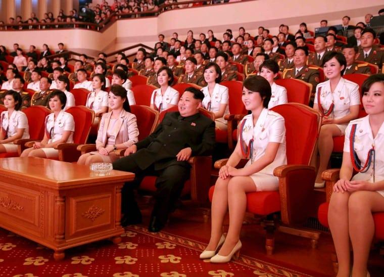 بریگاد شادی مسئول رفع نیازهای جنسی رهبران کره شمالی