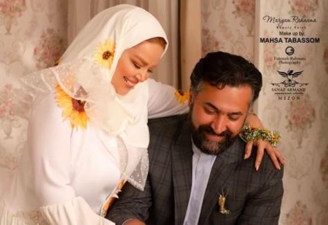 سومین سالگرد ازدواج بهاره رهنما با عکس های جدید