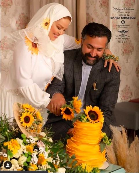 سالگرد ازدواج بهاره رهنما