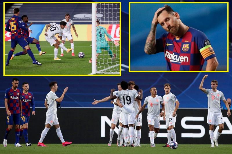 واکنش رسانههای ورزشی اسپانیا به شکست سنگین و تحقیرآمیز بارسلونا برابر بایرن مونیخ