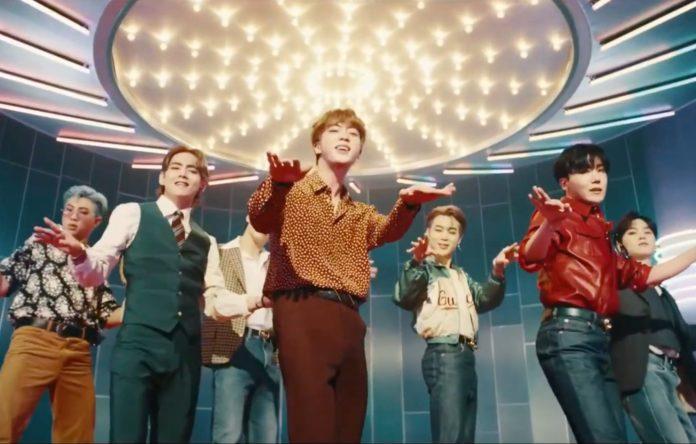 موزیک ویدیو جدید گروه موسیقی پاپ کره ای BTS با نام Dynamite