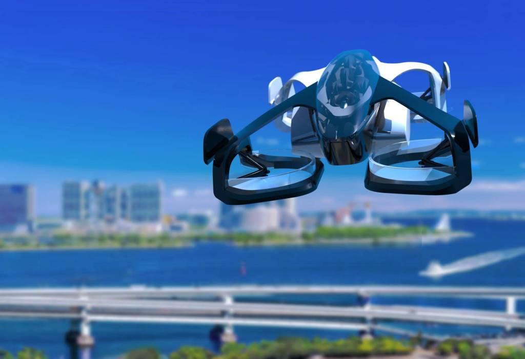 کمپانی SkyDrive که در توکیو مستقر است اخیراً از یک پرنده دو سرنشینه عمودپرواز با نام SD-XX رونمایی کرده که سرعت آن حداکثر به 62 مایل بر ساعت می رسد.