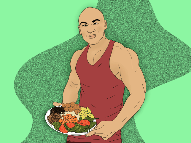سطح تستوسترون در مردان گیاهخوار و گوشتخوار