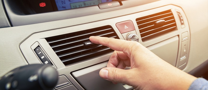 خنک کردن اتاق خودرو