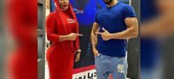 عکسهایی از دختران بدنساز و نمایشگاه جنجالی تجهیزات ورزشی در تهران