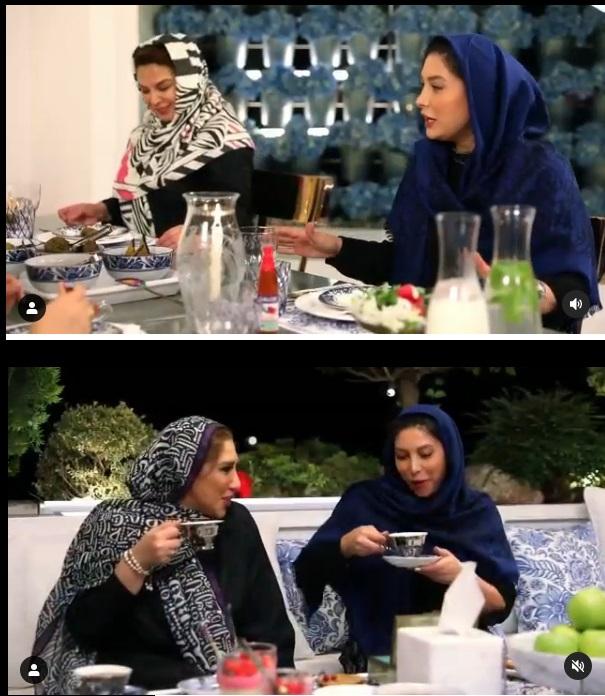فریبا نادری و شام ایرانی