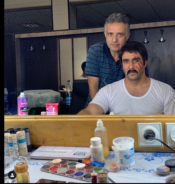 نقش ایرج در سریال ایلدا