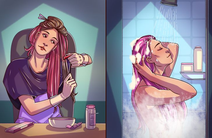 مراقبت از موی رنگ شده