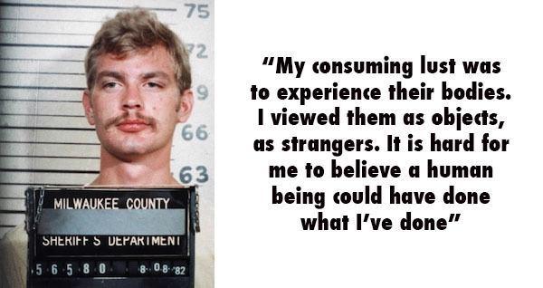 21 جمله مخوف از چند قاتل سریالی معروف که به اندازه جنایت هایشان ترسناک هستند