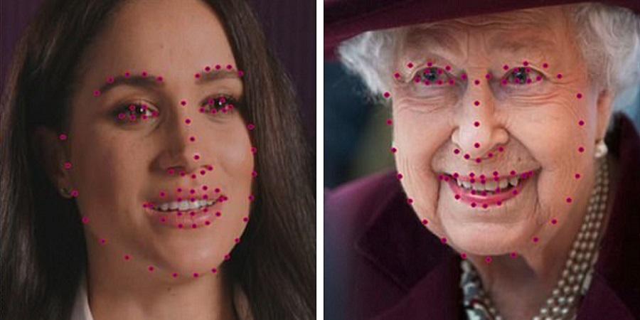 محققان: چهره مگان مارکل قابل اعتمادتر از ملکه انگلیس است