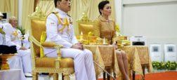 بازگشت پادشاه تایلند پس از ماه ها قرنطینه اختصاصی با لشکر سربازان جنسی اش در آلمان