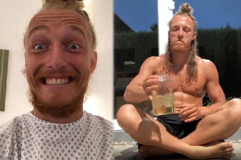 ادرار درمانی؛ نوشیدن و تزریق ادرار از طریق گوش، بینی و چشم توسط ورزشکار آلمانی